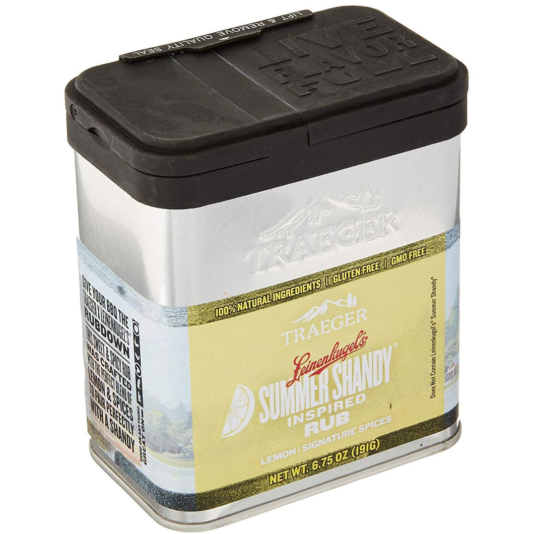Traeger Leinenkugel's Summer Shandy Seasoning Rub 6.75 oz