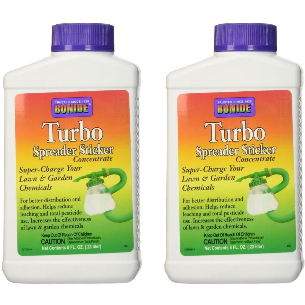 Bonide 097 Turbo Spreader Sticker 8 oz.