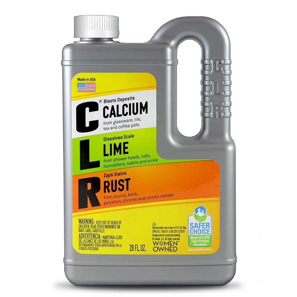 CLR Calcium Kalk Rost entferner, Enhanced Formel, 28 FL OZ (828 ml), 078291310825, 1, 1