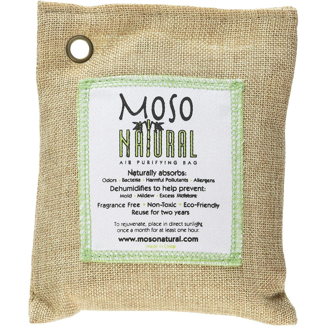 Moso Natural Air Purifying Bag Fragrance Free 200 Gram