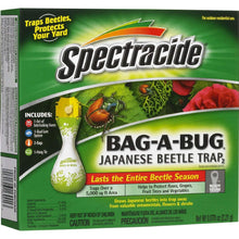 Load image into Gallery viewer, Spectracide Bag-A-Bug Japanese Beetle Trap (Pack of 2)