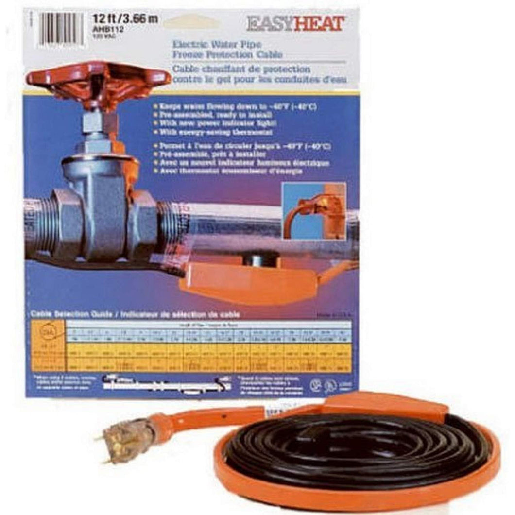 Easy Heat AHB-013 Cold Weather Valve and Pipe Heating Cable