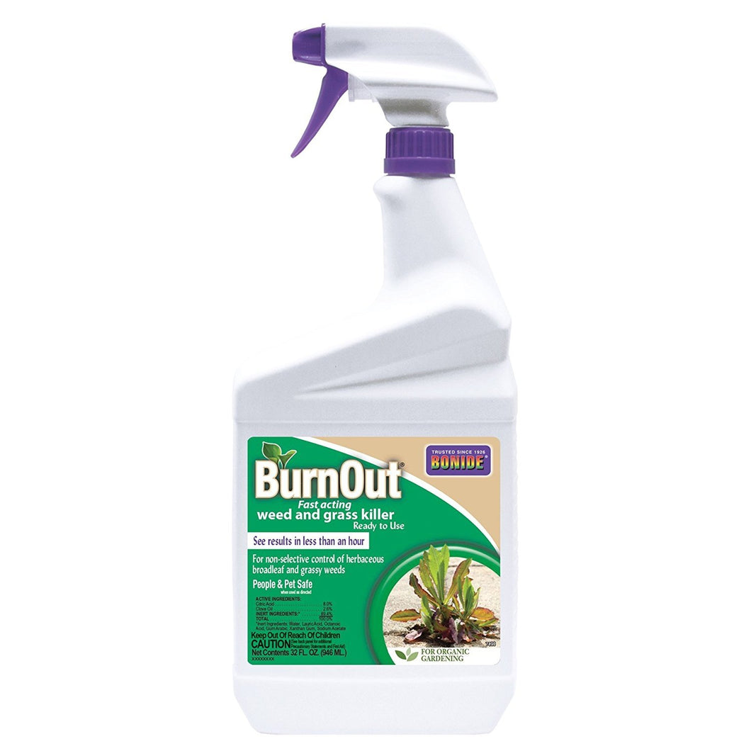 Bonide 7490 037321074908 Burn Out Weed and Grass Killer, 32 oz