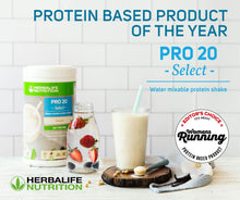 Load image into Gallery viewer, Herbalife PRO 20 Select - Protein Shake (630g)