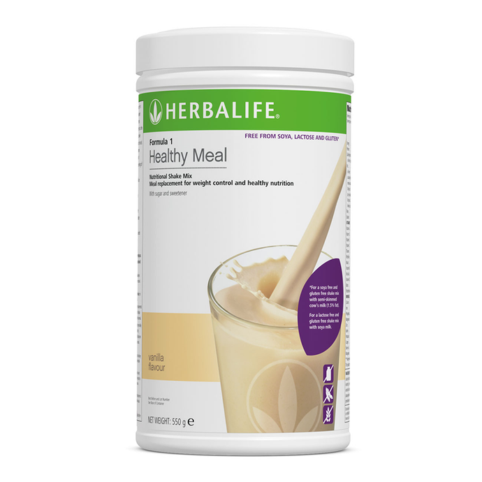 Formula 1 Nutritional Shake Mix Free From Vanilla