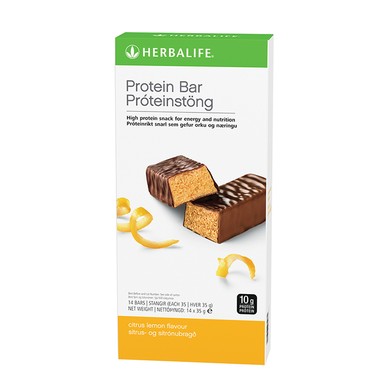 Protein Bars Citrus Lemon