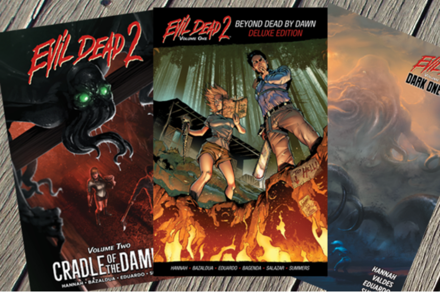 Signed Evil Dead 2 Graphic Novel Trilogy