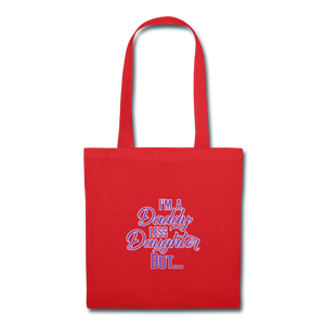 Daddy-less Daughter Tote Bag I Raised My Children - The Fatherless Store