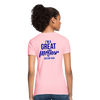 Fatherless Women's T-Shirt I'm A Great Mother Says My Kids - The Fatherless Store