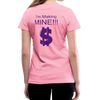 Fatherless Women's V-Neck T-Shirt (I'm Making Mine) - The Fatherless Store