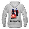 Gildan Heavy Blend Fatherless Women's Zip Hoodie (I'm FEARLESS) - The Fatherless Store