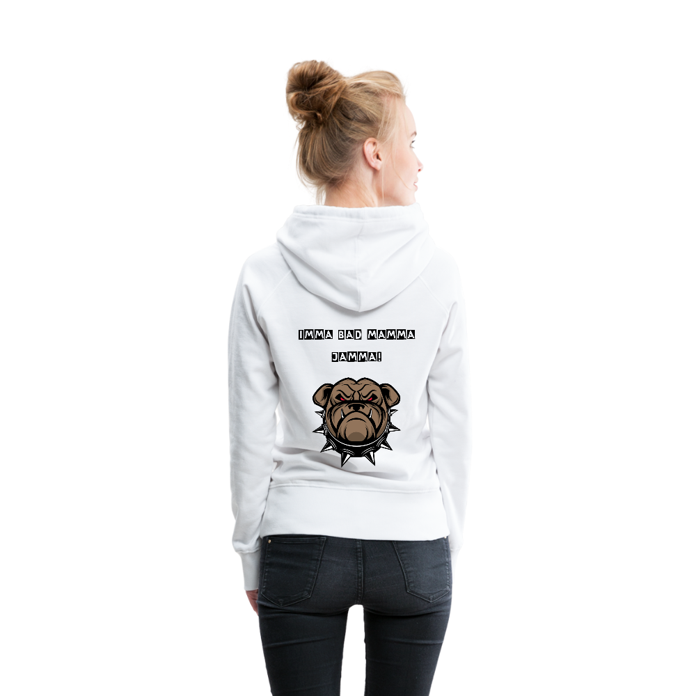 Women's Premium Hoodie (I'm Fatherless But...Imma Bad Mamma Jamma) - The Fatherless Store