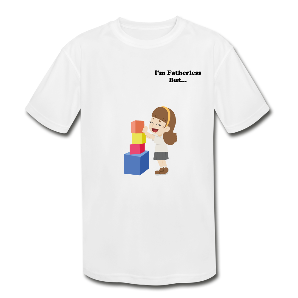 Fatherless Kids' Moisture Wicking Performance T-Shirt - The Fatherless Store