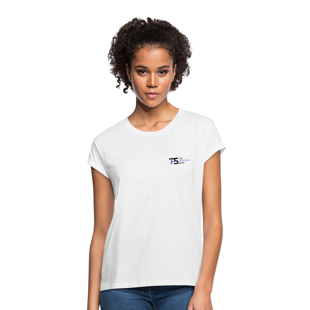 Women's Relaxed Fit T-Shirt (The Fatherless Store Logo Shirt) - The Fatherless Store