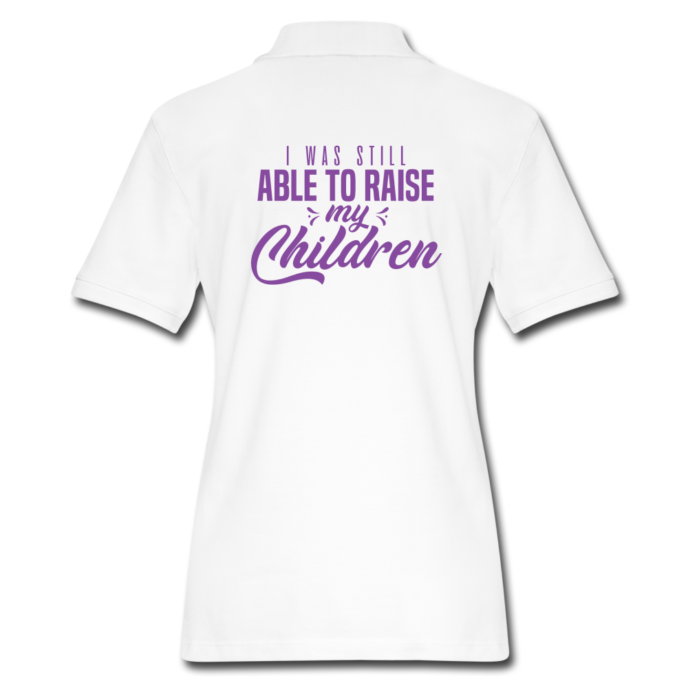 Women's Pique Polo Shirt - The Fatherless Store