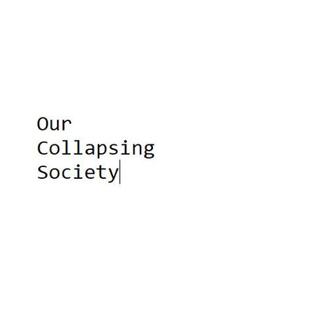 Our Collapsing Society