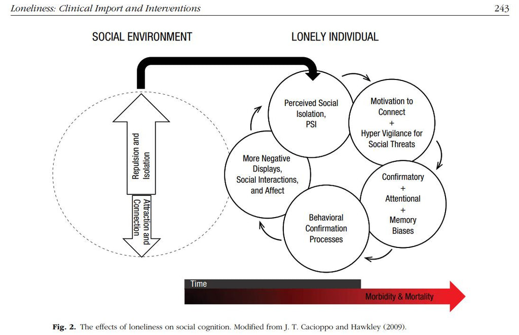 effect of lonelines on social cognition