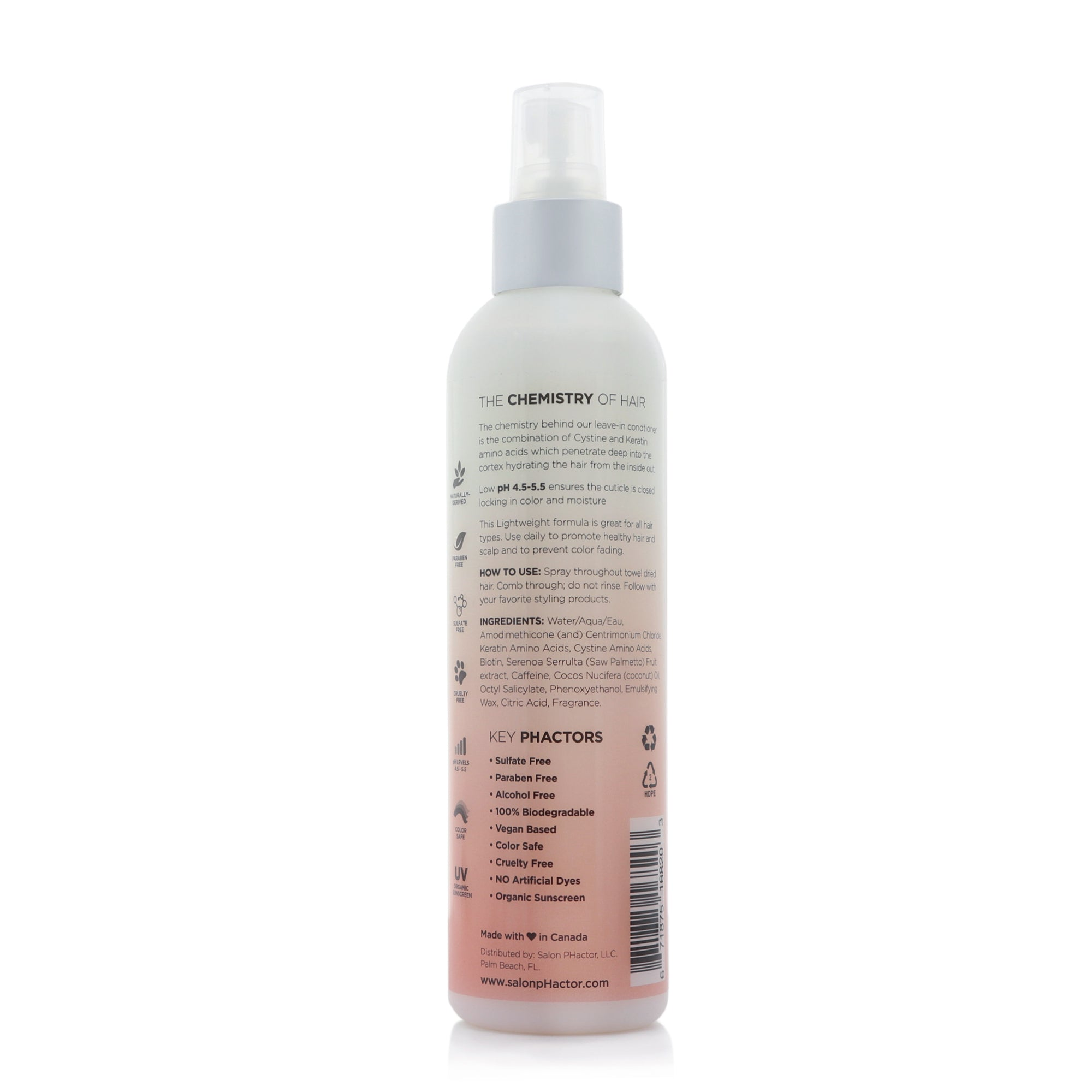 Leave-in Conditioning Spray - Detangler & Styling