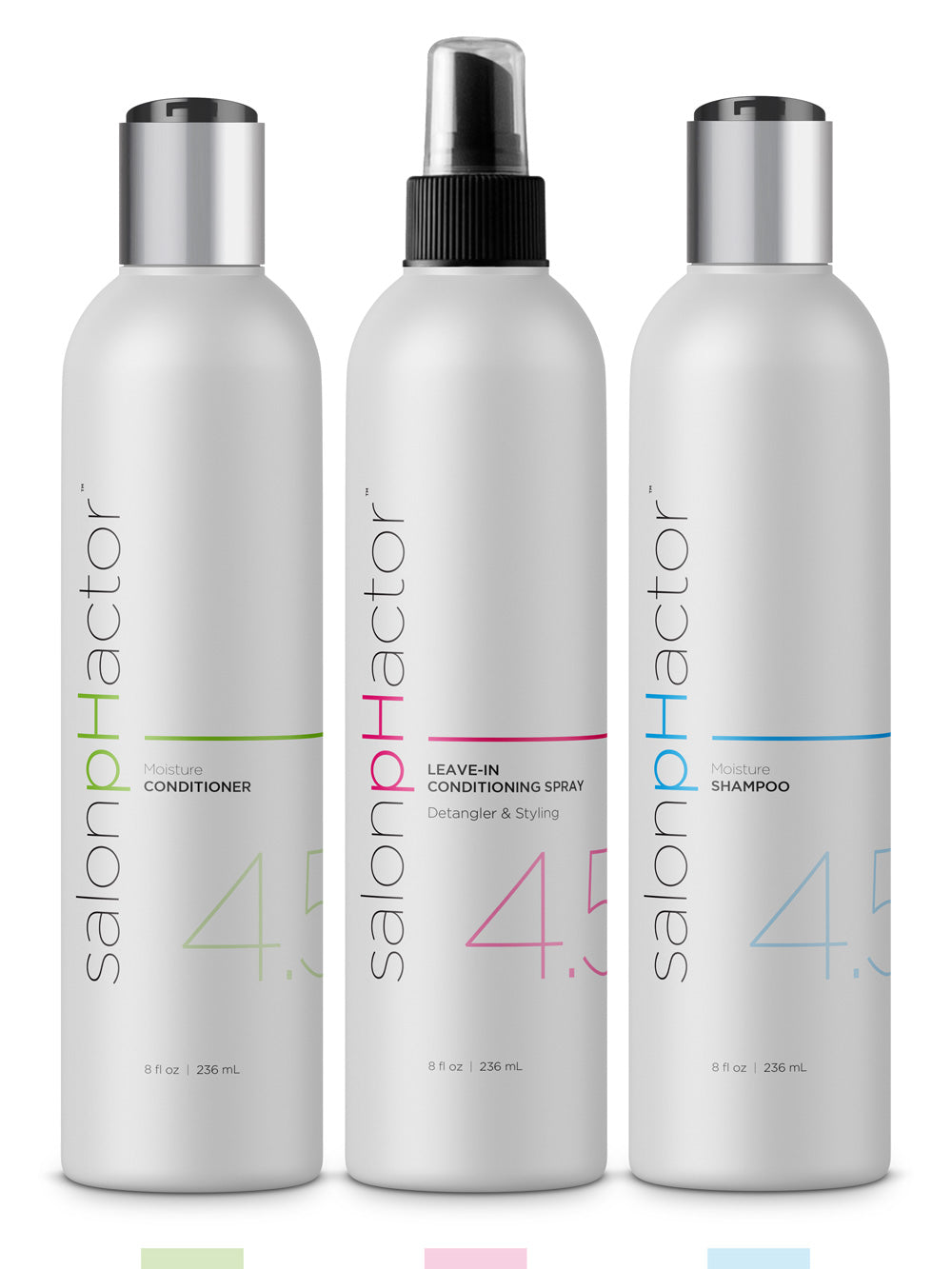 Essential Pack - Moisture Shampoo, Conditioner and Leave-in Spray