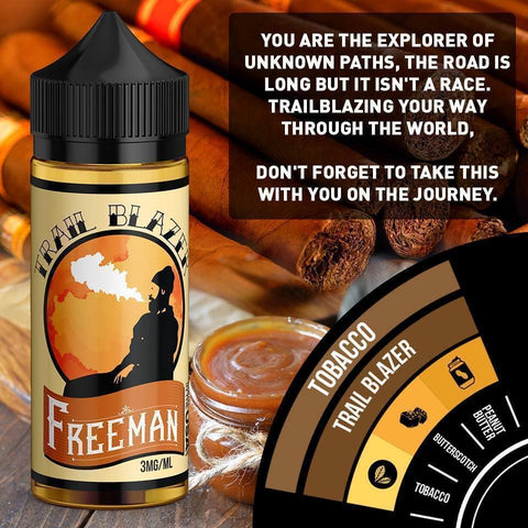 Image of tobacco flavored e-liquid