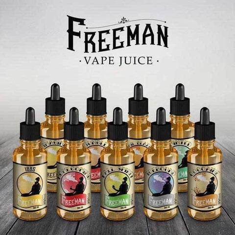 Image of freeman vape juice sampler try all of the flavors