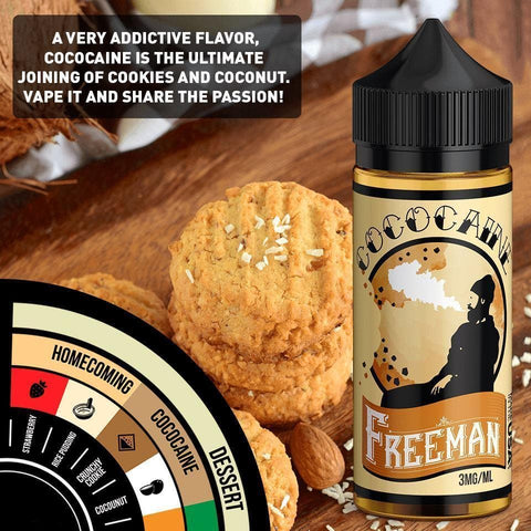 Image of caramel cookie e-juice flavor