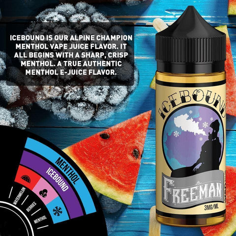 Image of best menthol e-liquid super cool vapor