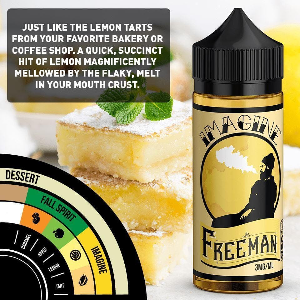 sweet and tart lemon cake e-juice with nicotine