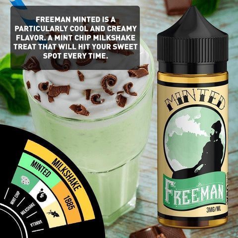 Image of mojito drink flavored e-liquid with lime and mint