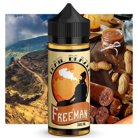 Image of freeman tobacco vape juice comes in 120 ml bottles for cheap