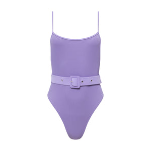 Carter Belted One Piece Violet