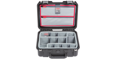 SKB Waterproof Case With Think Tank Designed Dividers & Lid Organizer 3I-1510-6DL