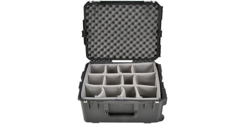 SKB Waterproof Case With Padded Dividers and Wheels 3I-2217-10BD