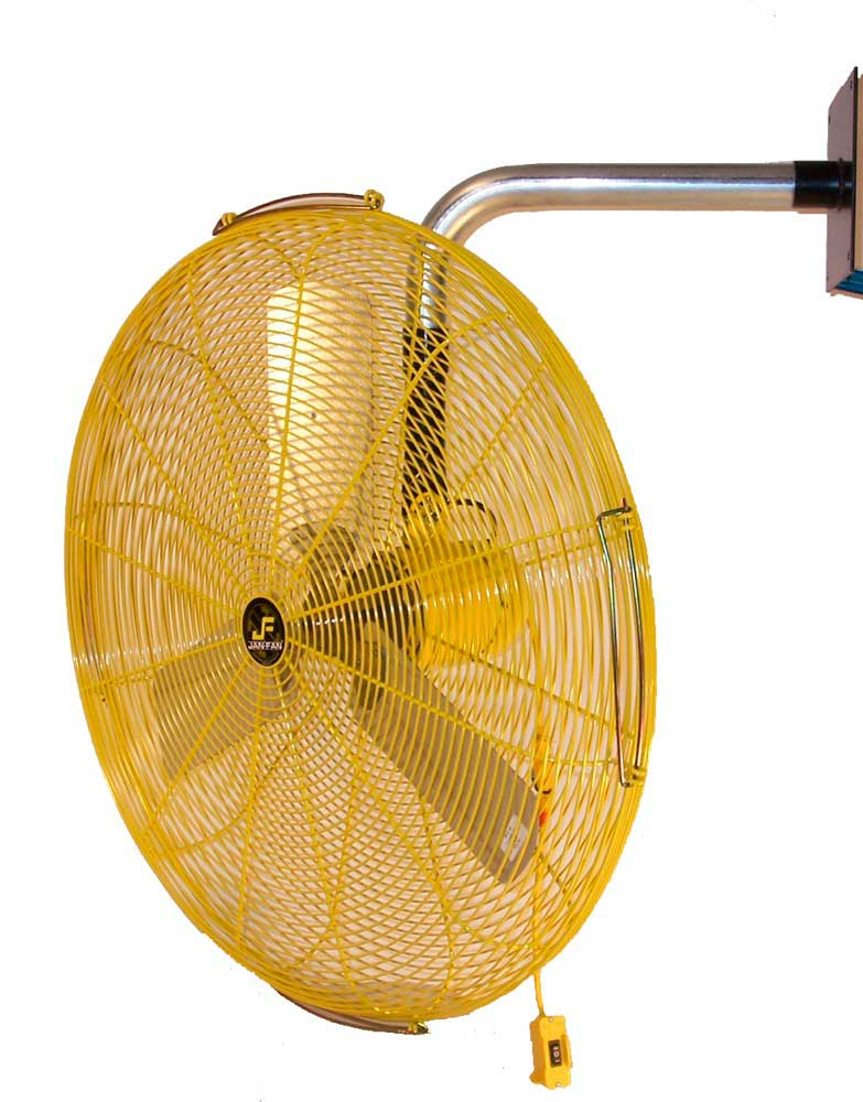 "Jan Fan 30"" 2 Speed Wall Mount Fan"