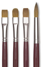 KOLINSKY FLAT SABLE BRUSHES