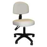 Silhouet-Tone Contoured Stool With Adjustable Backrest