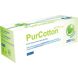 Aurelia Pure Cotton Non-Woven Sponges