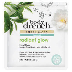 Body Drench Specialty Radiant Glow Hydrogel Sheet Mask