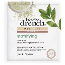 Body Drench Specialty Mattifying No-Mess Mud Sheet Mask