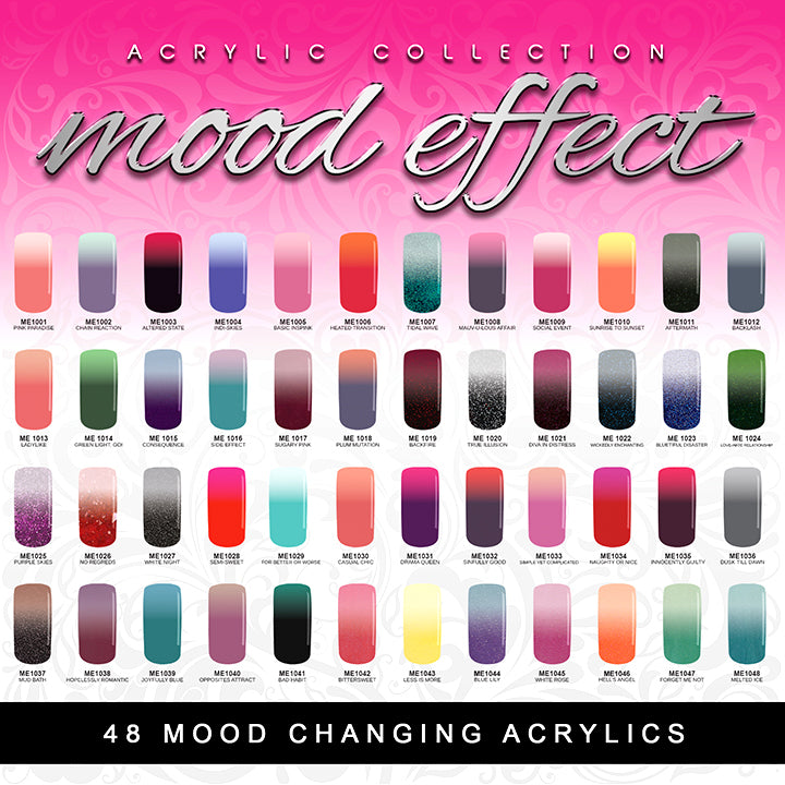 Glam and Glits - MOOD EFFECT ACRYLIC COLLECTION (ME1031 to ME1048)