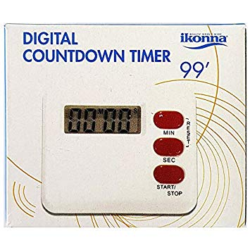 Ikonna Digital Countdown Timer 99'
