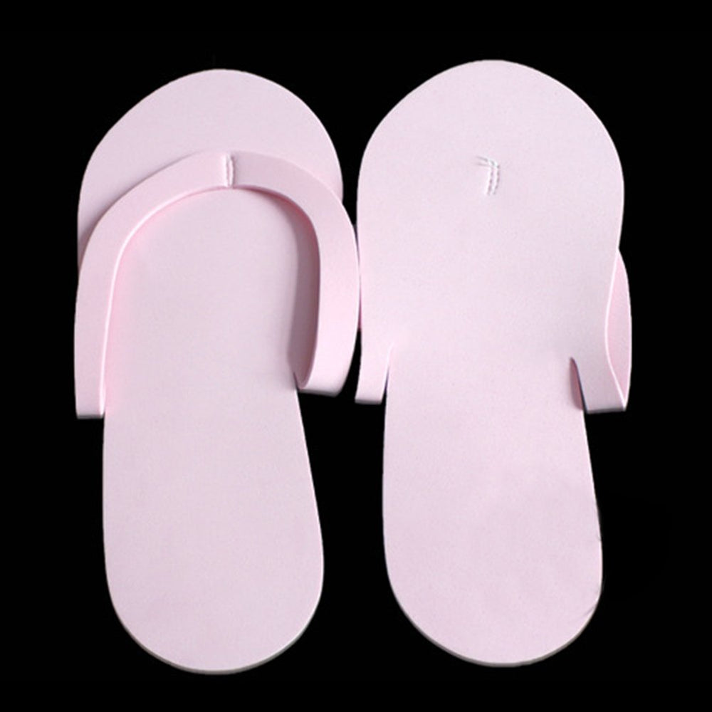 IBD FOAM PEDICURE SLIPPERS WHITE (12-Pair-pc) - IBD Boutique