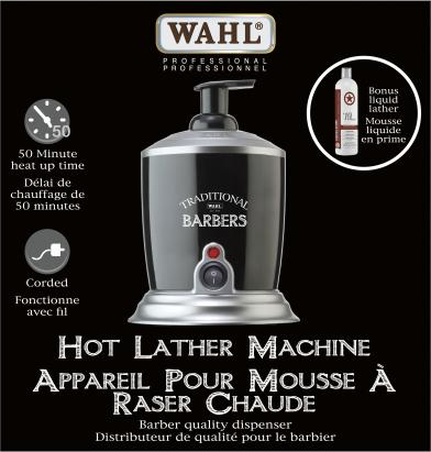 Wahl Hot Lather Machine - IBD Boutique