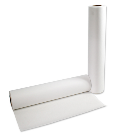 "AMD RITMED EXAM TABLE PAPER, WHITE, SMOOTH 24"" x 125"""