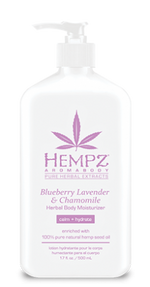 HEMPZ® AROMABODY BLUEBERRY LAVENDER & CHAMOMILE HERBAL BODY MOISTURIZER