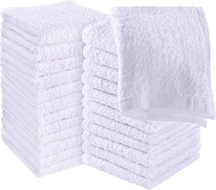 IBD Bleached White Towels 12PC/PK