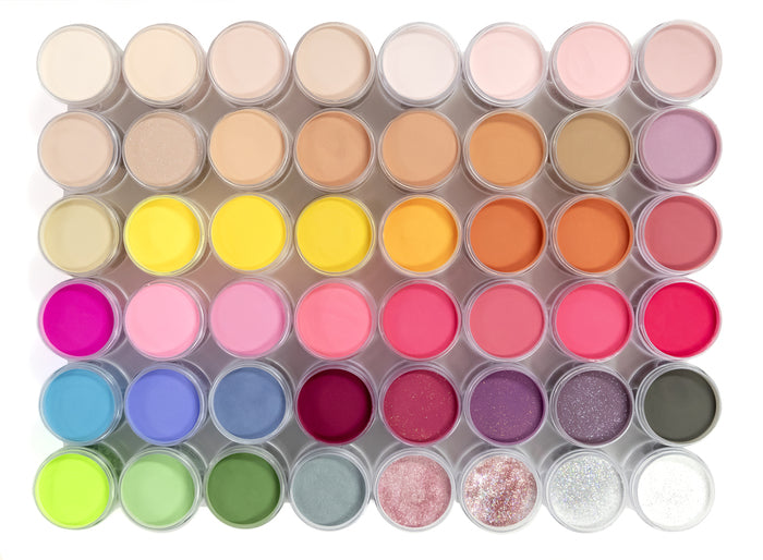 Glam & Glits COMPLETE COLOR BLEND COLLECTION - VOL. 2 (ALL 48 COLORS)