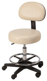 EQUIPRO- ROUND AIR-LIFT STOOL