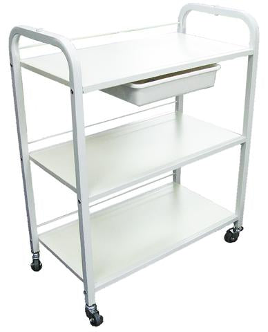 GD Trolley with Wooden Shelves - IBD Boutique