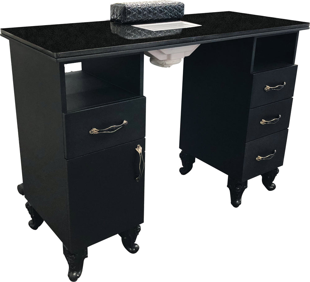 GD Manicure Table (Marble Top)
